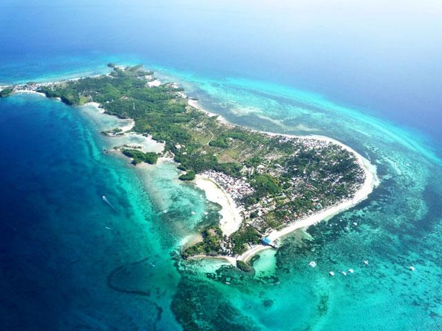 una isla en Cebu, Filipinas