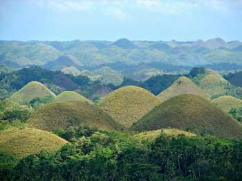 colinas chocolate filipinas