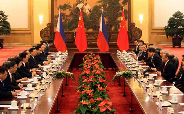 conferencia bilateral China - Filipinas