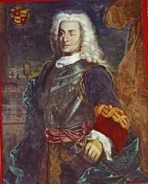 cuadro de don Blas de Lezo en el Museo Naval de Madrid