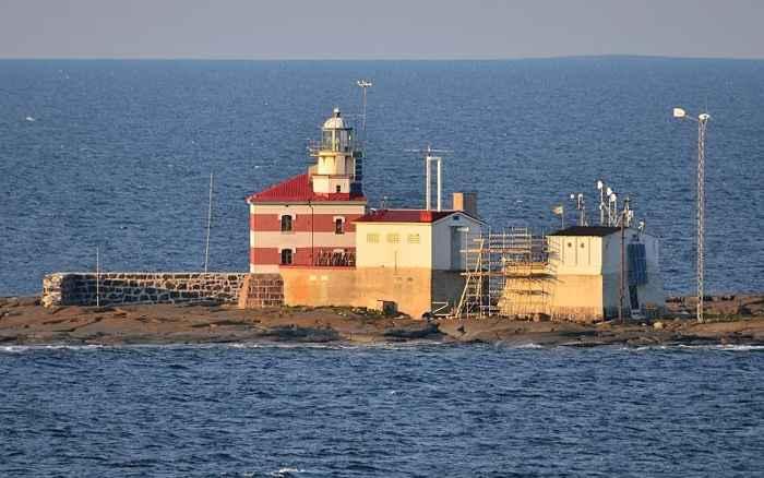 faro de la isla de Märket