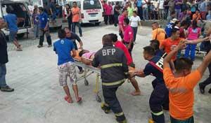 heridos del ferry volcado en Filipinas