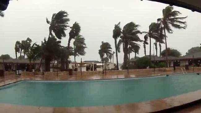 huracán Fred sobre Cabo Verde, viento