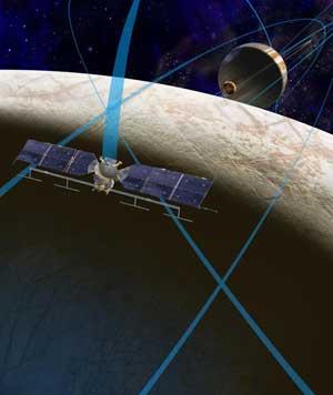 misión a la luna Europa de la NASA
