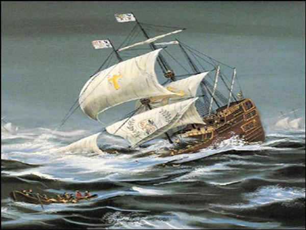 naufragio de la flota de 1715