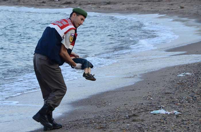 nino ahogado en siria
