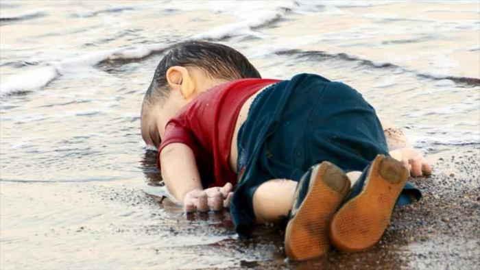 niño sirio ahogado en Turquía