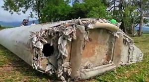 percebes en el flaperón del MH370