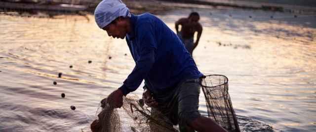 pesca artesanal en Filipinas