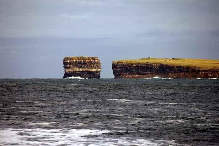 pila del mar Dun Briste, Downpatrick Head
