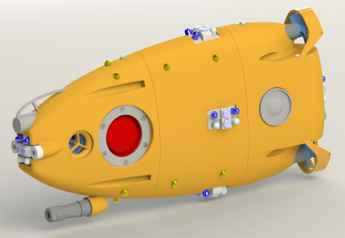 robot submarino aFish