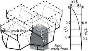 formación de rocas hexagonales