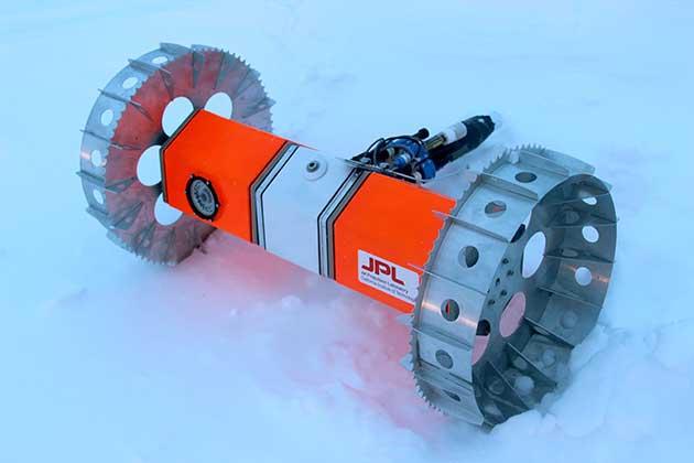 rover BRUIE para la exploración bajo el hielo