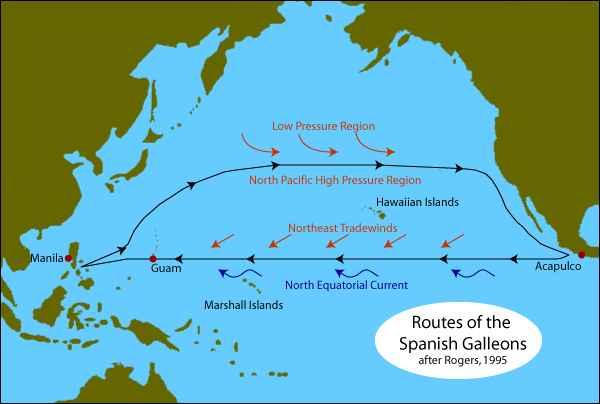 ruta Manila-Acapulco
