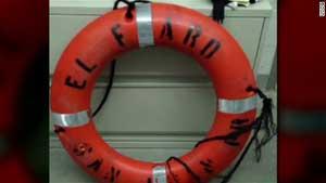 salvavidas del portacontenedores El Faro