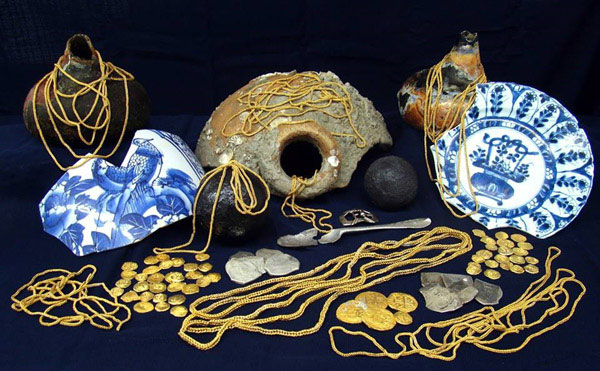 tesoro de la flota de 1715