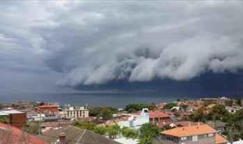 tsunami de nubes en Australia