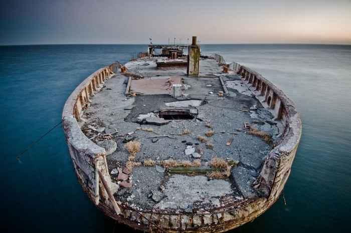 buque de hormigón SS Palo Alto