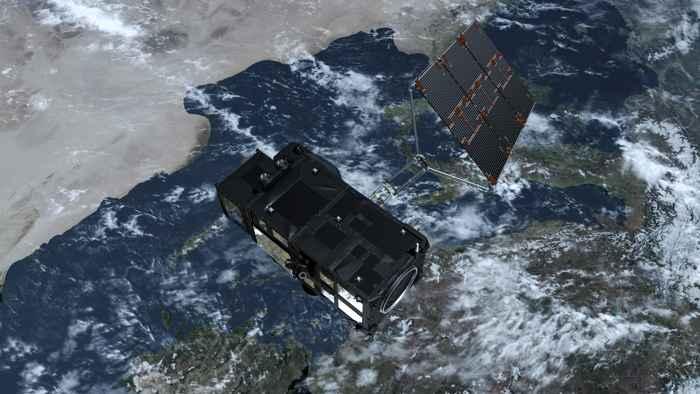 Sentinel-3A sobre la tierra y el océano