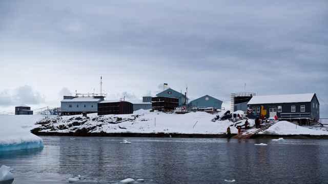 Vernadsky Station Lounge, bar en la Antártida