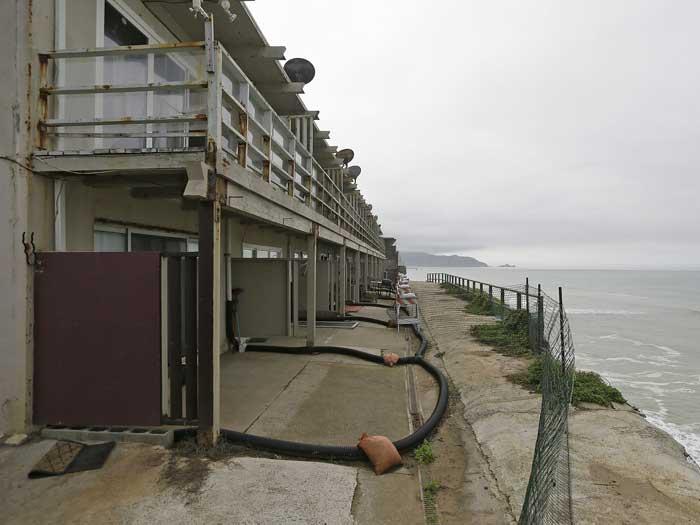 apartamentos en Pacifica junto al acantilado