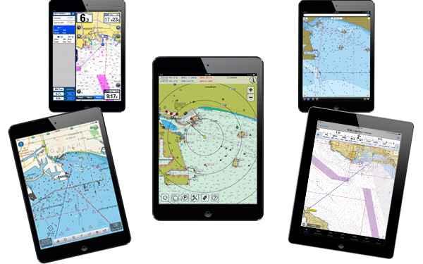 Apps para navegación