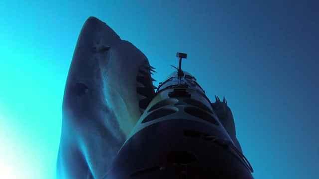 AUV Remus mordido por tiburón
