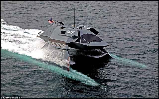 buque de guerra Ghost