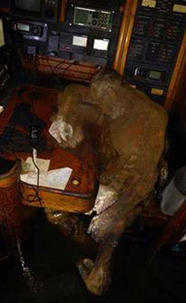 cadáver momificado de Manfred Fritz Bajorat
