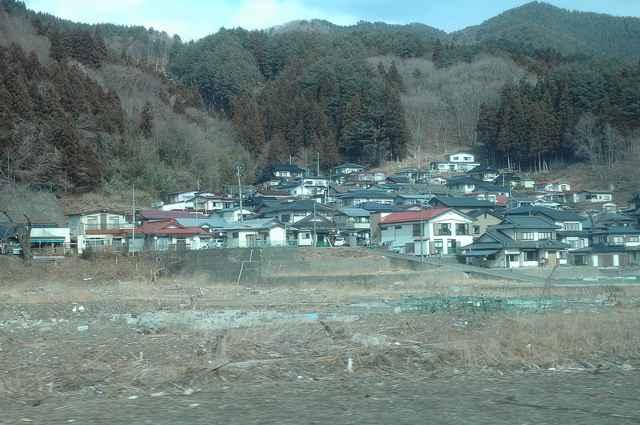 casas salvadas del tsunami de Japón de 2011