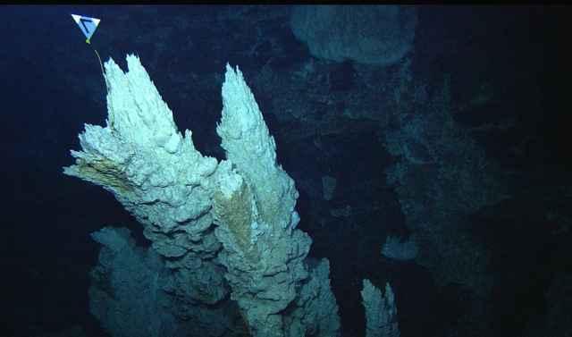 chimeneas hidrotermales alcalinas