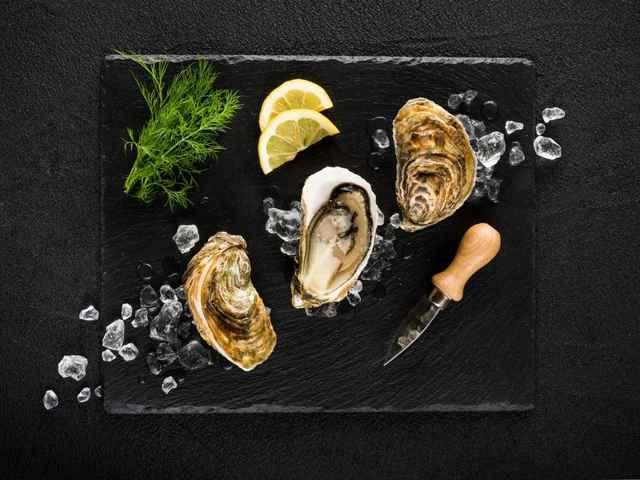 degustación de ostras