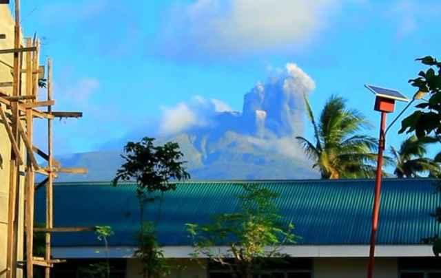 erupción volcán Bulusan, Filipinas