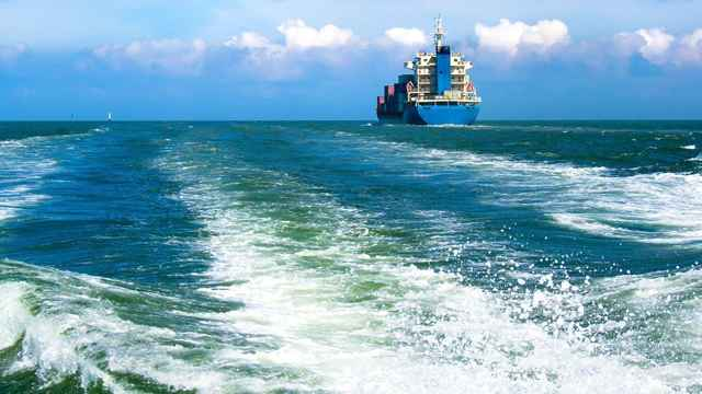 estelas de barcos contra el calentamiento global