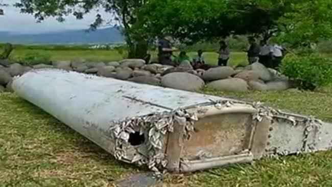 flaperón del vuelo MH370