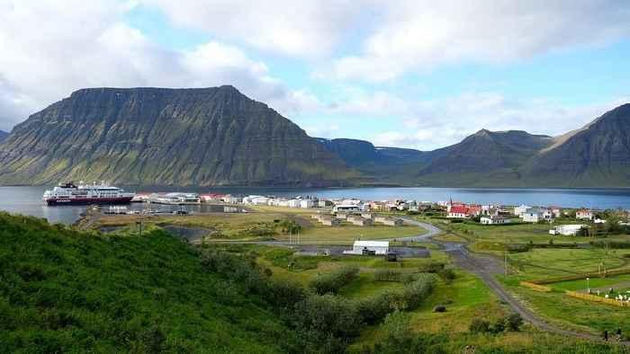 Flateyri, Islandia