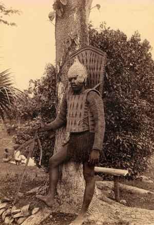 guerrero de Kiribati