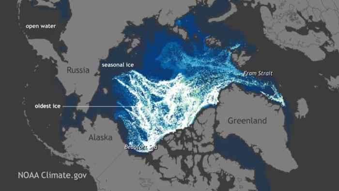 hielo marino de Ártico