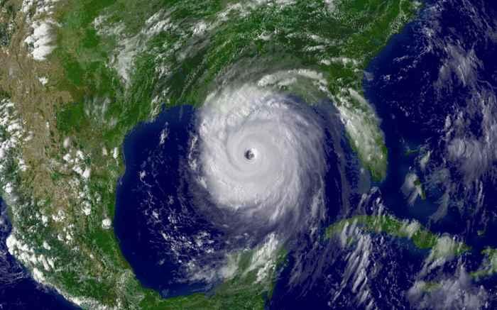 huracán Katrina en el Caribe