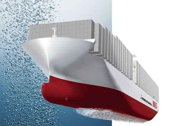 lubrificación por micro-burbujas del casco de los barcos