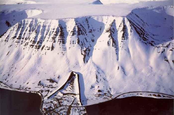 montaña Skollahvilft, Islandia