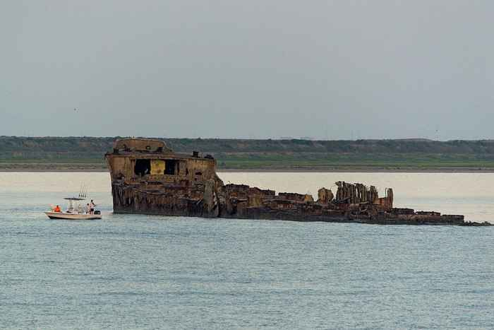 naufragio del SS Selma en Seawolf Park