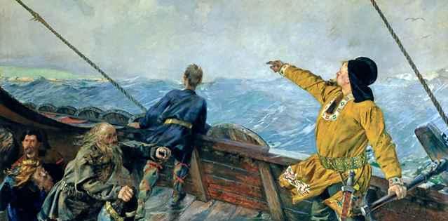 navegantes vikingos