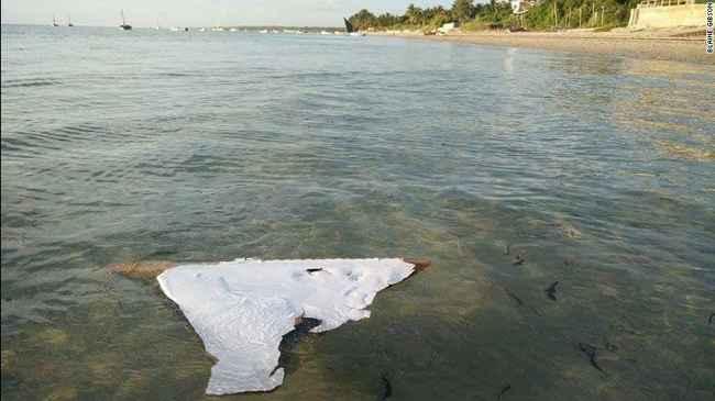 estabilizador horizontal del vuelo MH370 encontrado en Mozambique