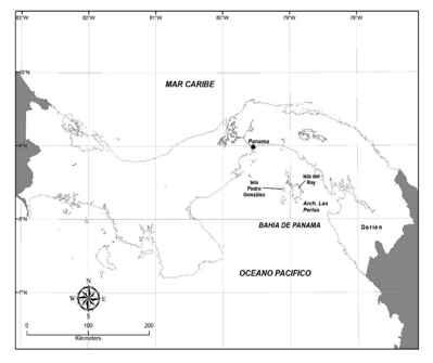 situación de la isla de Pedro González
