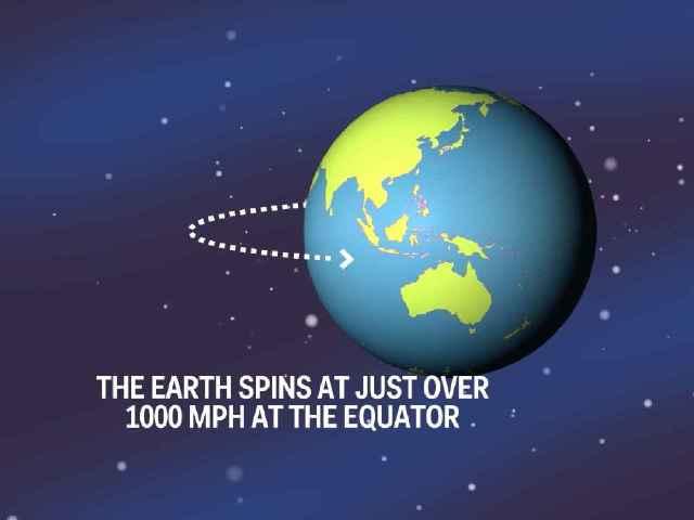 Esto es lo que pasaría si la Tierra dejase de girar