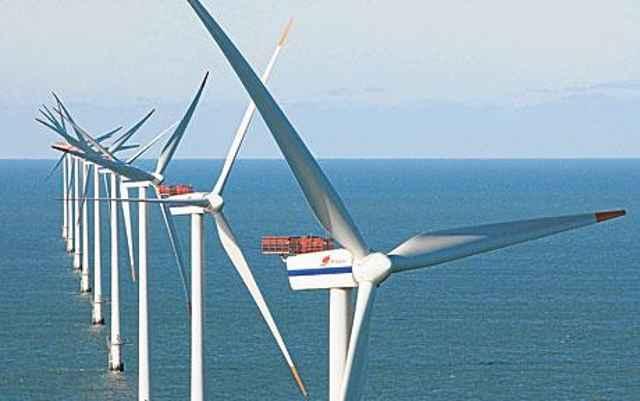 turbinas eólicas marinas