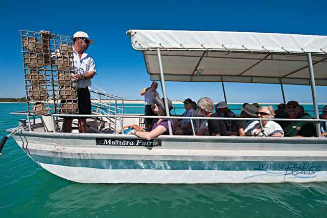 turismo en una granja de perlas, Broome - Australia