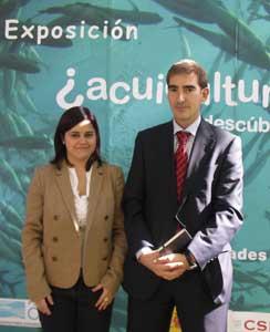 ¿acuicultura? descúbrela, degustacion corvina,Mª Carmen Berrio y Fco. Javier Remiro de OESA