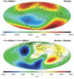 cambios en la Anomalía del Atlántico Sur en 20 años